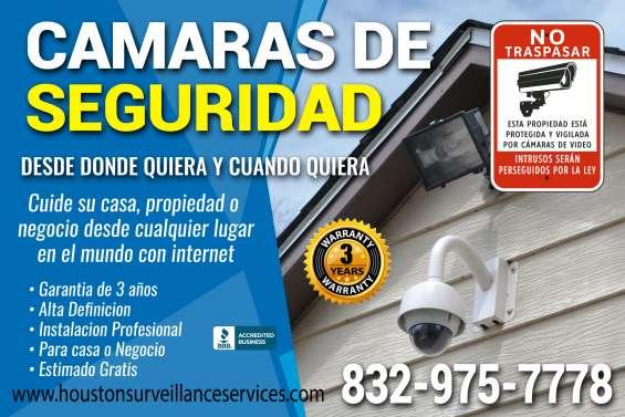 Sistemas de seguridad para tu negocio o empresa en hd houston