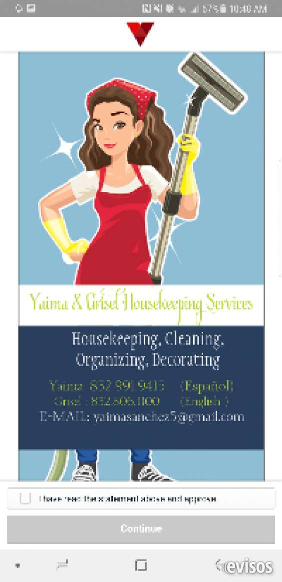 Limpieza del hogar,calidad garantisada