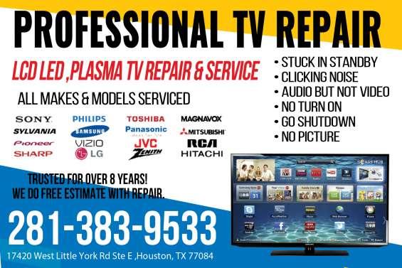 Reparación de televisiones en katy houston y alrededores