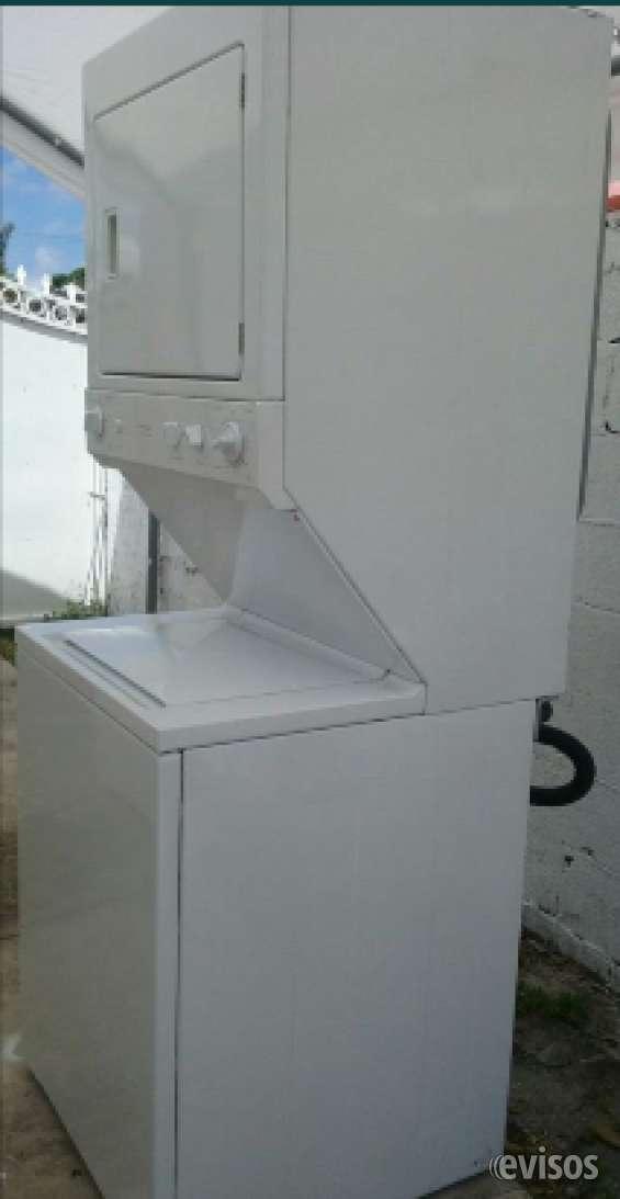Washer and dryer srackable - lavadora y secadora con garantia - warranty
