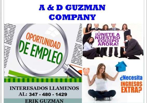 Tenemos la oportunidad de empleo que buscas!