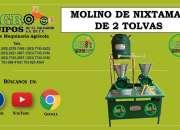 MOLINOS DE NIXTAMAL DE 1, 2 Y 3 TOLVAS
