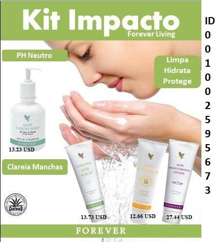Kit de impacto facial