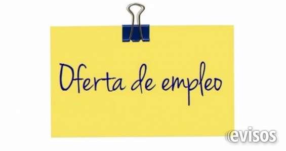 Oferta de empleo-vacantes disponibles