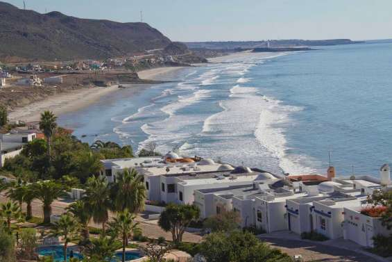 Luxury ocean view homes in the baja coast