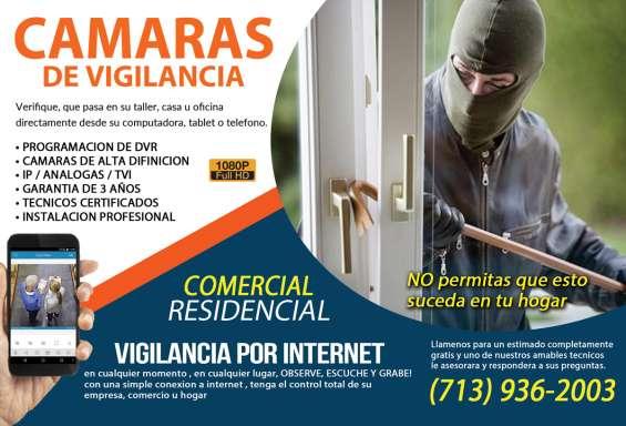 Mantenga su casa o negocio protegido con cámaras de seguridad bbs