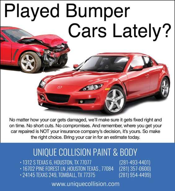 Professional repair, body and paint automotive