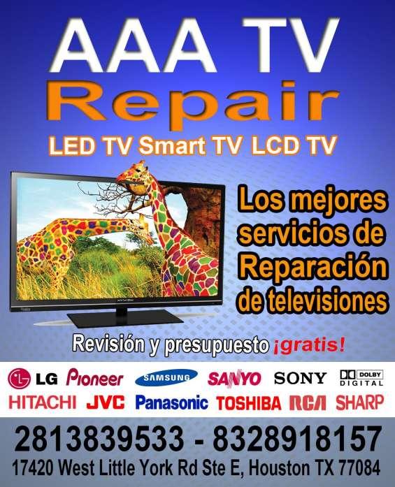 Tecnicos profesionales de televisiones led, lcd y smart tv