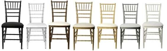 Mesas sillas y carpas