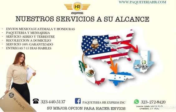 Envios a mexico desde estados unidos paqueteria y encomiendas.
