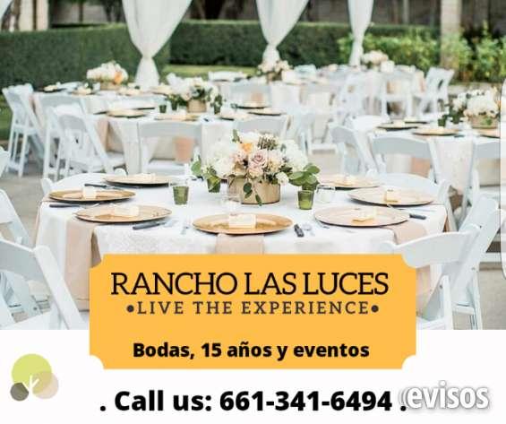 Rancho para bodas y fiesta