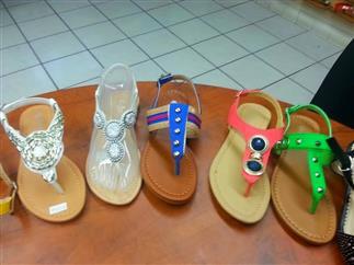Sandalias de damas por mayoreo