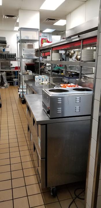 Cocina perfecta para elaboracion de platos para consumo en el restauran