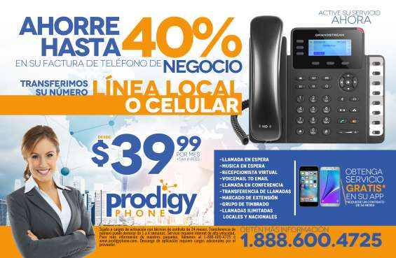 Sistema telefonico para empresas o negocios
