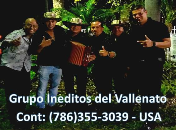 Grupo vallenato en south carolina / 786 355 3039