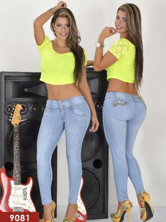 Jeans de damas por mayoreo $10