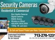 Venta de camaras de seguridad HD (Instalaciones y mantenimiento)