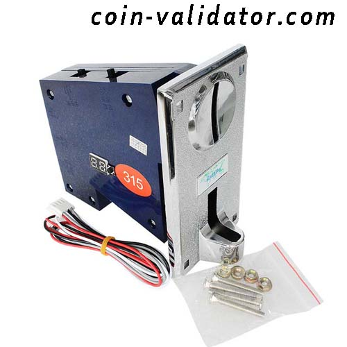 Multiples validador  aceptador selector de monedas