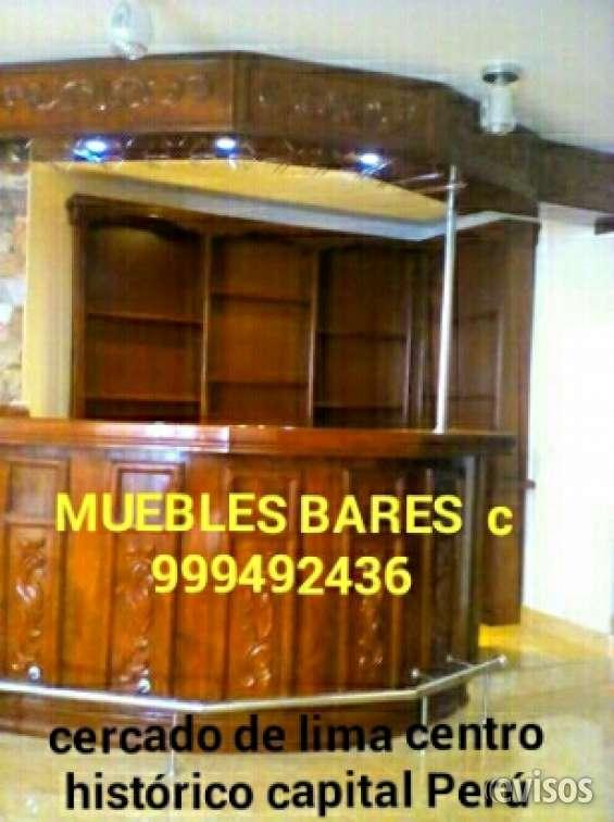 Muebles bar tallados coloniales lima perú sudamerica