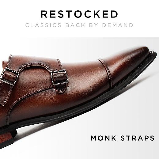 Zapatos casuales y zapatos de vestir para hombres