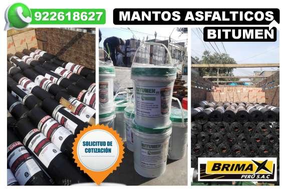 Brimax peru sac; venta de manto asfaltico gravillado - liso.