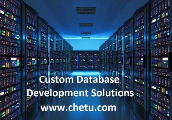 Custom managed dbaas solutions