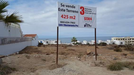 Ocean view lot for sale!