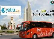 Yatra Coupons, Deals & Offers: Up to 20% off Bus Bookings-Oct 201
