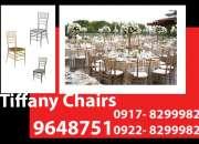 Tiffany chairs rent hire manila philippines