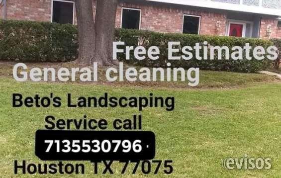 Landscaping service houston texas