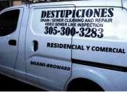 KENDALL  DESTUPICIONES,  DRAIN CLEANING,  305 300 3283
