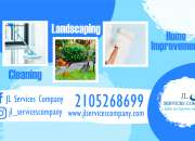 CLEANING, LANDSCAPE AND HOME IMPROVEMENT SERVICES