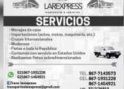 servicio de importacion y mudanza