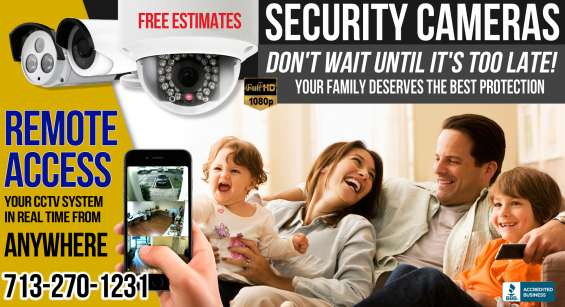 Houston security system installation and maintenance