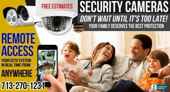 Cctv security cameras houston tx