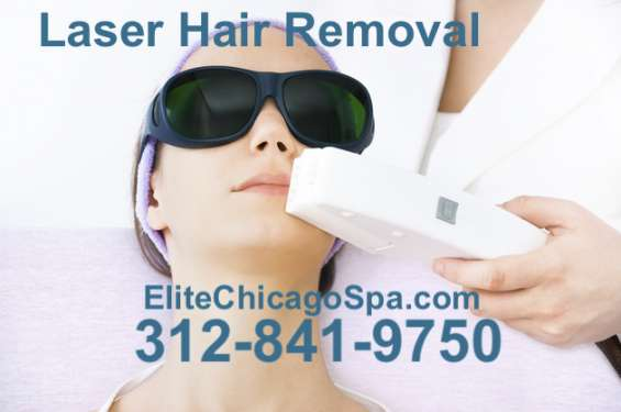 Laser hair removal face in chicago